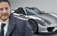 İsrafil Abutalibov'un yeni arabası göz kamaştırdı!