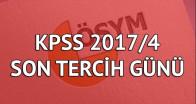 KPSS tercihlerinde son gün!