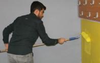 Şırnak'ta öğretmenler okullarını öğrencileri için hazırlıyor