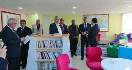 """Darende'de """"z-kütüphane"""" açıldı"""