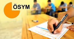ÖSYM 6 sınavın daha soru ve cevaplarını yayınladı