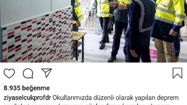 Bakan Selçuk: 'İzmir'de 2 bin 505 okulumuzdan 139'unda hafif sorunlar bulunuyor'