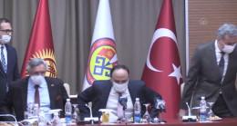 Türkiye'nin Bişkek Büyükelçisi Fırat, KTMÜ'ye veda etti