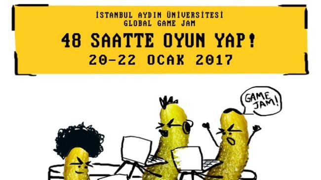 Oyun yapımcıları 'Global Game Jam' için İstanbul Aydın Üniversitesi'nde buluşuyor