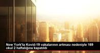 Son dakika haber | New York'ta Kovid-19 vakalarının artması nedeniyle 169 okul 2 haftalığına kapatıldı